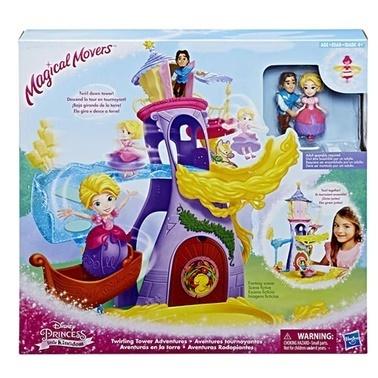 Disney Princess Disney Princess Balerin Prensesler Rapunzelin Kulesi Renkli